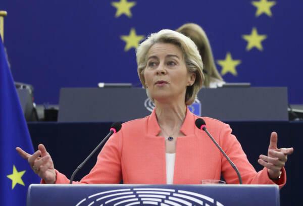 Europa, Ursula von der Leyen a Strasburgo per il discorso sullo stato dell'Unione