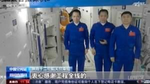 Spazio, astronauti cinesi rientrano sulla Terra dopo 3 mesi