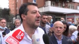 """Nucleare, Salvini: """"Aprire dibattito su nucleare è giusto"""""""