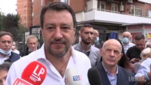 """Bollette, Salvini: """"Tagliare subito l'Iva costa meno del Reddito di cittadinanza"""""""