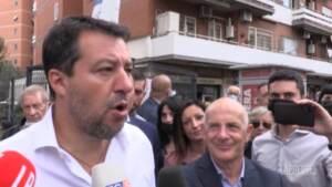 """Omicidio Voghera, Salvini: """"Non commento le chat interne, se aggrediti tutti hanno diritto di difendersi"""""""