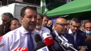 """Comunali Milano, Salvini: """"Il Centrodestra sia compatto, ce la giochiamo al ballottaggio"""""""