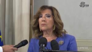 """Senato, Casellati: """"Il Paese si riapre alla speranza con la ripresa delle attività"""""""