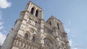 Parigi, la cattedrale di Notre-Dame è stata messa in sicurezza: le immagini nel cantiere