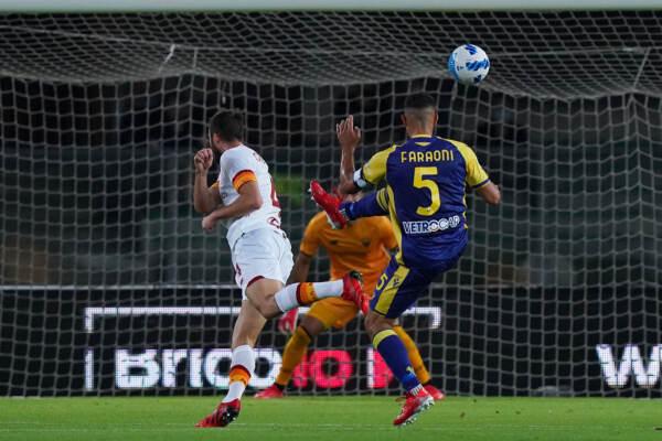 Hellas Verona vs Roma - Serie A TIM 2021/2022