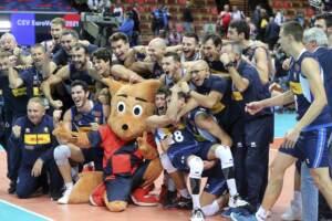 Volley, Europei: Italia in finale, battuta 3-1 Serbia