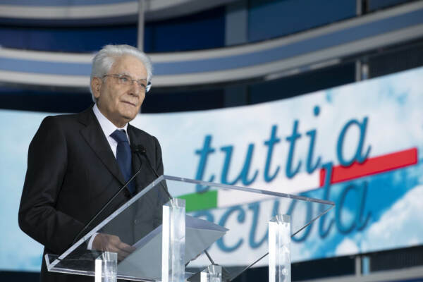 Il Presidente della Repubblica Sergio Mattarella in visita a Pizzo Calabro