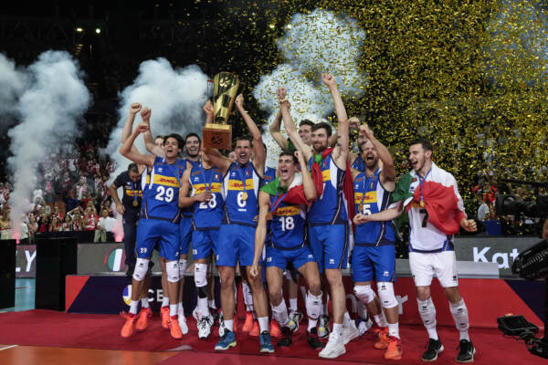Volley, Italia campione d'Europa: Slovenia ko 3-2