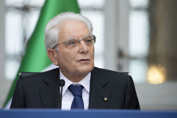 Il Presidente Sergio Mattarella e i Capi di Stato partecipanti alla XVI riunione del Gruppo Arraiolos