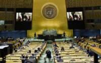 New York, 76esima Sessione dell'Assemblea Generale delle Nazioni Unite
