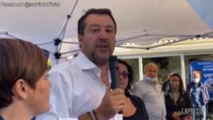 """Pensioni, Salvini: """"Faremo barricate se pensano di tornare alla Fornero"""""""