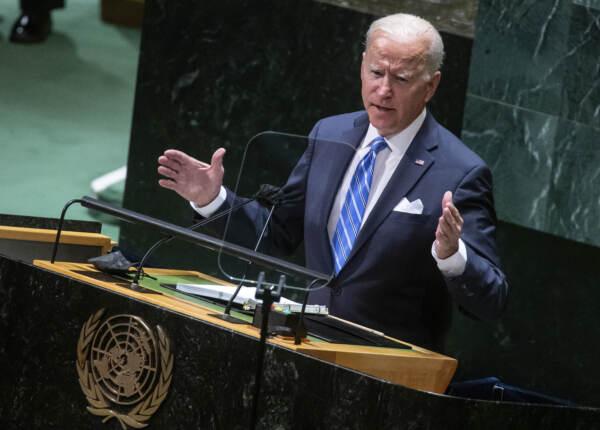 """Biden all'Onu: """"Decennio decisivo per il mondo, dobbiamo agire insieme"""""""