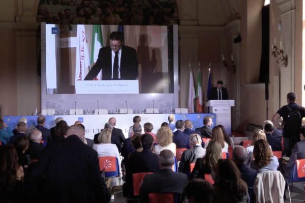 """'L'Italia per lo Spazio', al via kermesse organizzata da Leonardo. Giorgetti: """"Governi devono investire di più"""""""
