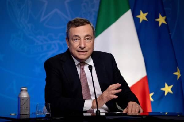 """Clima, Draghi: """"E' emergenza di uguale entità alla pandemia, l'Italia farà sua parte"""""""
