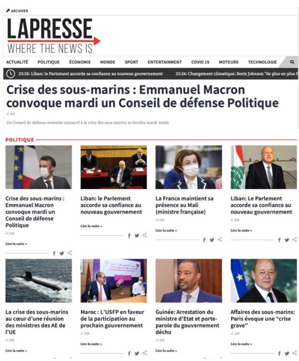 La Presse Marocco