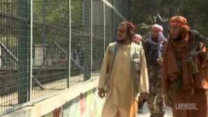 Afghanistan, talebani in visita allo zoo di Kabul