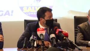 """Centrodestra, Salvini: """"E' chiaro che qualcuno non vuole la federazione"""""""