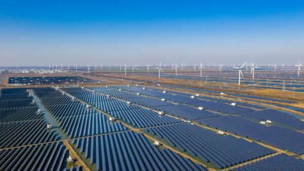 Impianti di generazione di energia fotovoltaica ad Haian in Cina