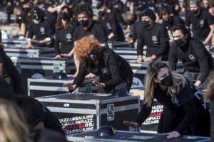 'Bauli in piazza', manifestazione dei lavoratori dello spettacolo