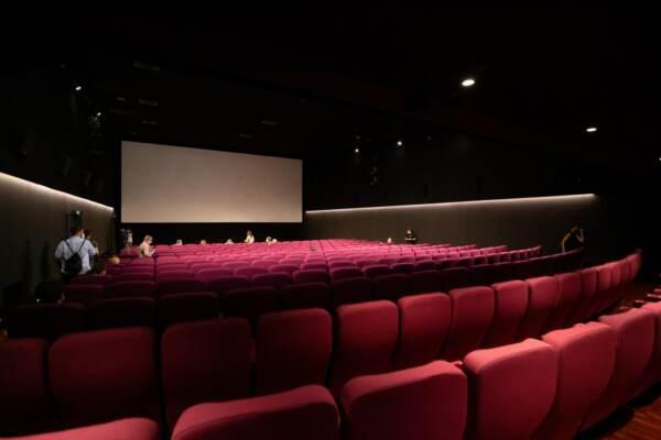 Italia: Inaugurazione del Cinema Troisi a Roma