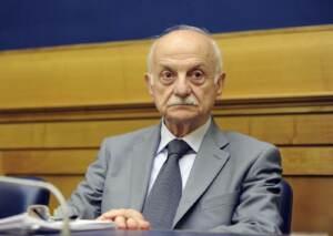 Camera dei Deputati. Conferenza stampa di Giovanni Negri e il Gen. Mario Mori