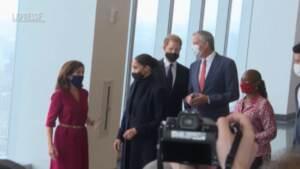 """Royal Family, Harry e Meghan a Nyc: """"Stupendo essere di nuovo qui"""""""