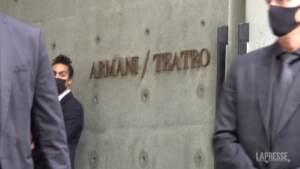 Armani celebra 40 anni di Emporio, vip da tutto il mondo per la sfilata