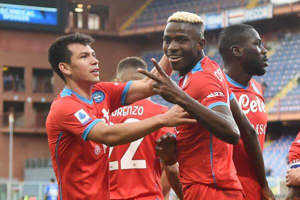 Sampdoria vs Napoli - Serie A TIM 2021/2022