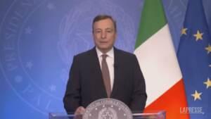"""Afghanistan, Draghi: """"Prepariamo un G20 straordinario"""""""