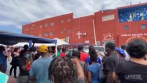 Messico, oltre 1.500 migranti di Haiti ospitati nei rifugi di Monterrey