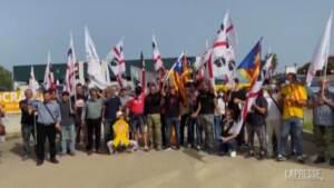 Arresto Puigdemont, a Sassari manifestanti chiedono il rilascio del leader catalano