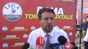 """Governo, Salvini: """"Partito di Draghi non esiste, ne riparliamo nel 2023"""""""