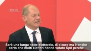 """Germania, Scholz: """"I tedeschi vogliono un cambiamento e me cancelliere"""""""