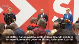 "Germania, Scholz: ""Elettori chiedono governo Spd-Verdi-Liberali"""