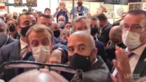 Francia, Lione: lanciato uovo contro Emmanuel Macron