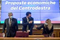 Il centrodestra presenta gli emendamenti alla legge di Bilancio