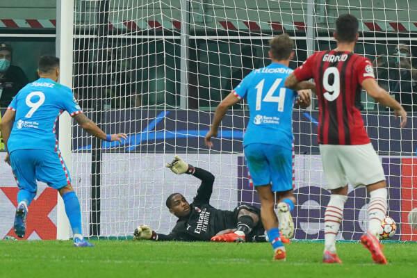 Milan vs Atletico Madrid - Champions League 2021/2022