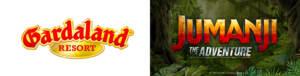 SONY PICTURES ENTERTAINMENT e GARDALAND annunciano l'apertura nel 2022 della prima attrazione al mondo tematizzata jumanji