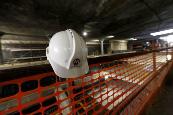 Visita agli scavi della metro Colosseo