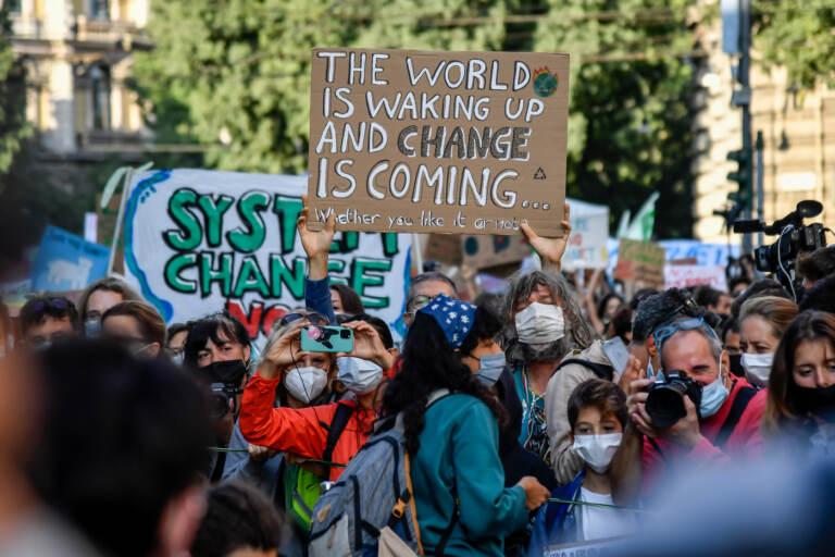 Milano, manifestazione Friday for Future