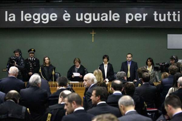 Sentenza di primo grado del Tribunale di Napoli sul processo Calciopoli