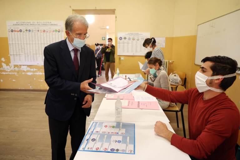 Elezioni Comunali Bologna 2021, Fabio Battistini al voto