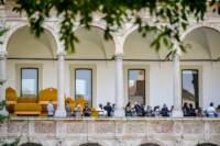 Milano, installazioni del Fuorisalone 2021 presso l'università Statale