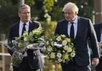 Regno Unito: omicidio deputato Tory, per polizia è terrorismo. Johnson visita luogo attacco