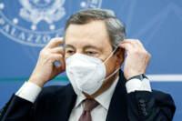 CdM - Conferenza stampa di Mario Draghi e Daniele Franco