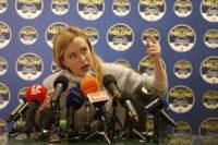 Elezioni comunali Roma, conferenza stampa di Giorgia Meloni dopo sconfitta del centrodestra