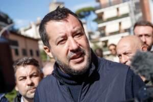 Amministrative - Matteo Salvini nel XV municipio