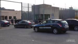 Open arms: udienza al via, l'arrivo dell'auto con Matteo Salvini