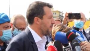 """Open arms, Salvini: """"E' serio un processo con testimonianza Richard Gere?"""""""