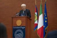 Sergio Mattarella inaugura l'anno accademico 2021-2022 dell'Università di Foggia